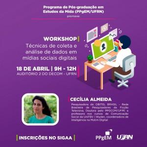 workshop cartaz de divulgação