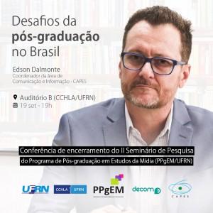 CONFERÊNCIA DE ENCERRAMENTO EDSON DALMONTE